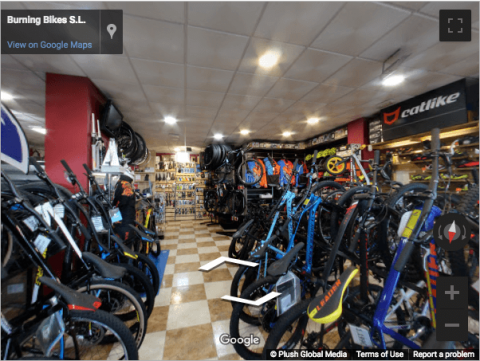 Madrid Virtual Tours – Burning Bikes