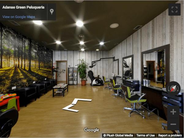 Guadalajara Virtual Tours - Adanae Green Peluqueria