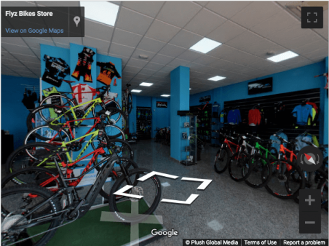 Madrid Virtual Tours – Flyz Bikes