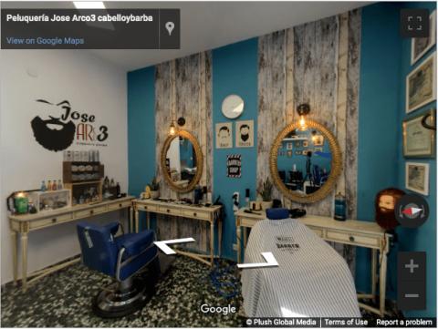 Madrid Virtual Tours – Peluquería Jose Arco3 cabelloybarba