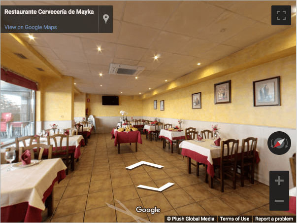 Madrid Virtual Tours - Restaurante De Maika