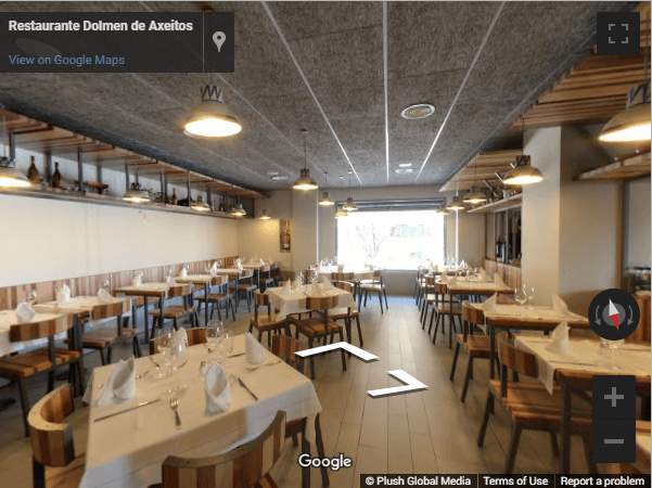 Madrid Virtual Tours - Restaurante Dolmen de Axeitos
