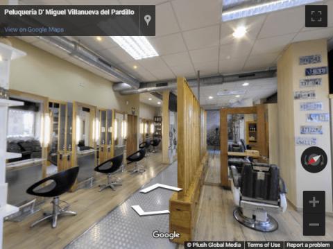 Madrid Virtual Tours – D-Miguel peluquería Viila Nueva del Pardillo
