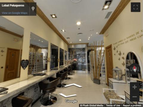 Madrid Virtual Tours – Lobal Peluquería Las Rozas