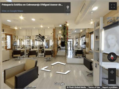 Madrid Virtual Tours –  D-Miguel Peluquería Colmenarejo