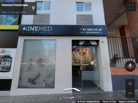 Madrid Virtual Tours – Kinemed Fisioterapia