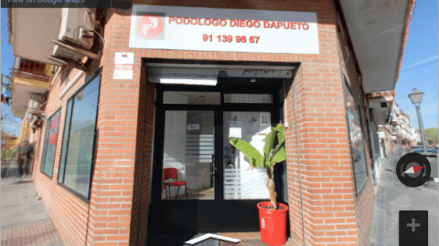 Madrid Virtual Tours – Podologo Diego Dapueto