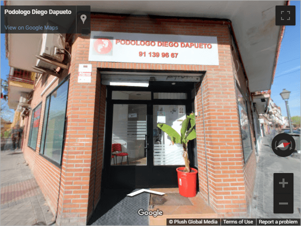 Madrid Virtual Tours - Podologo Diego Dapueto