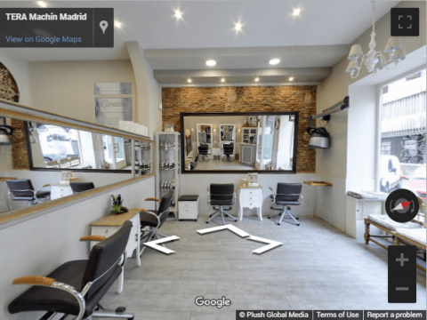 Madrid Virtual Tours – Tera Machín peluquería Madrid
