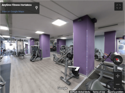 Madrid Virtual Tours – Anytime Fitness Hortaleza