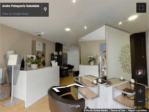 Madrid Virtual Tours - Arebo peluquería Boadilla