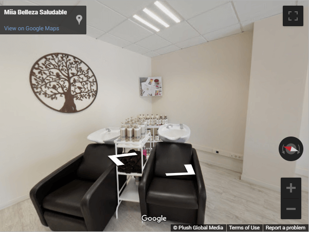 Madrid Virtual Tours - Miia Peluquería Saludable