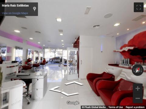 Guadalajara Virtual Tours – María Rúiz Estilistas