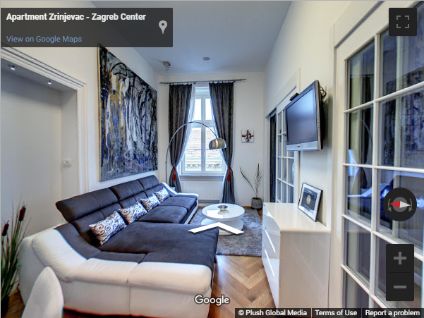 Croatia Virtual Tours - Apartment Zrinjevac