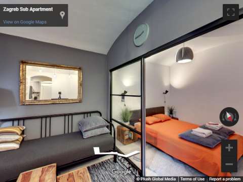 Zagreb Virtual Tours – Zagreb Sub Apartment