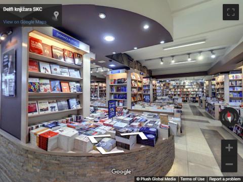 Serbia Virtual Tours – Delfi knjižara SKC