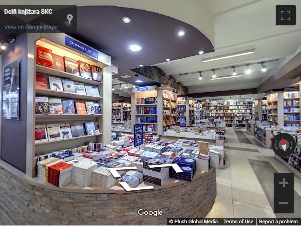 Serbia Virtual Tours - Delfi knjižara SKC