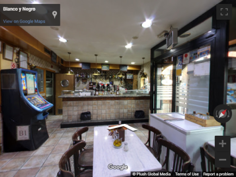 Madrid Virtual Tours – Bar Blanco y Negro