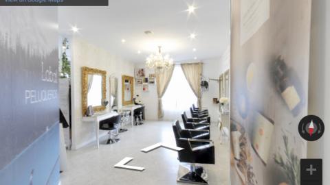 Madrid Virtual Tours – Lobal peluquería Valdemorillo