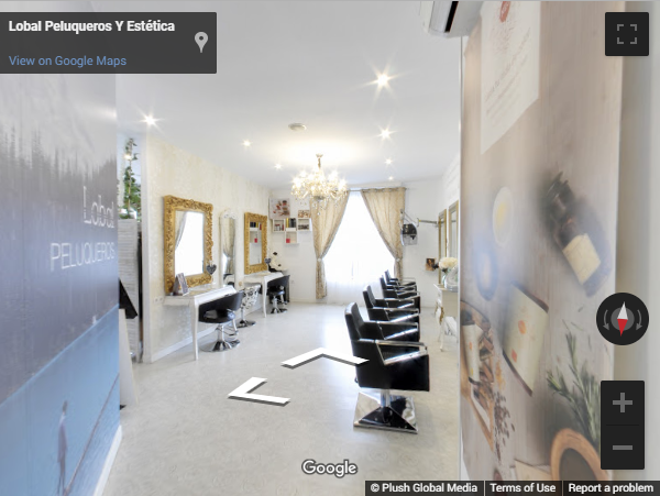 Madrid Virtual Tours - Lobal peluquería Valdemorillo