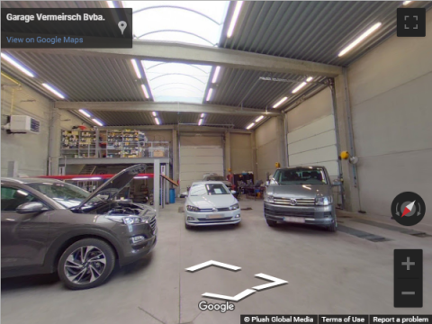 Belgium Virtual Tours – Garage Vermeirsch Bvba