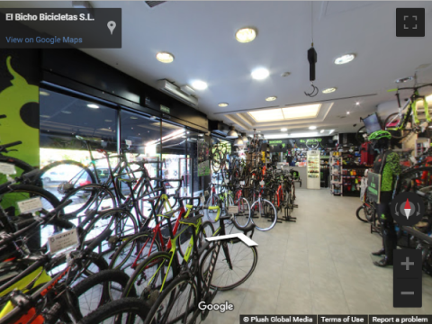 Madrid Virtual Tours – El Bicho Bicicletas