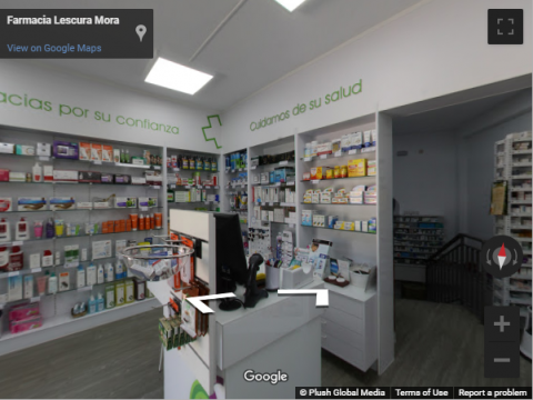 Madrid Virtual Tours – Farmacia Lescura Mora