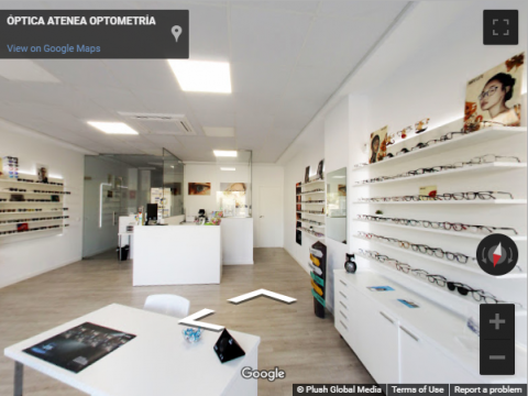 Madrid Virtual Tours – Atenea Optometria